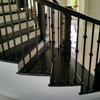 Distressed Maple Hardwood Staircase
